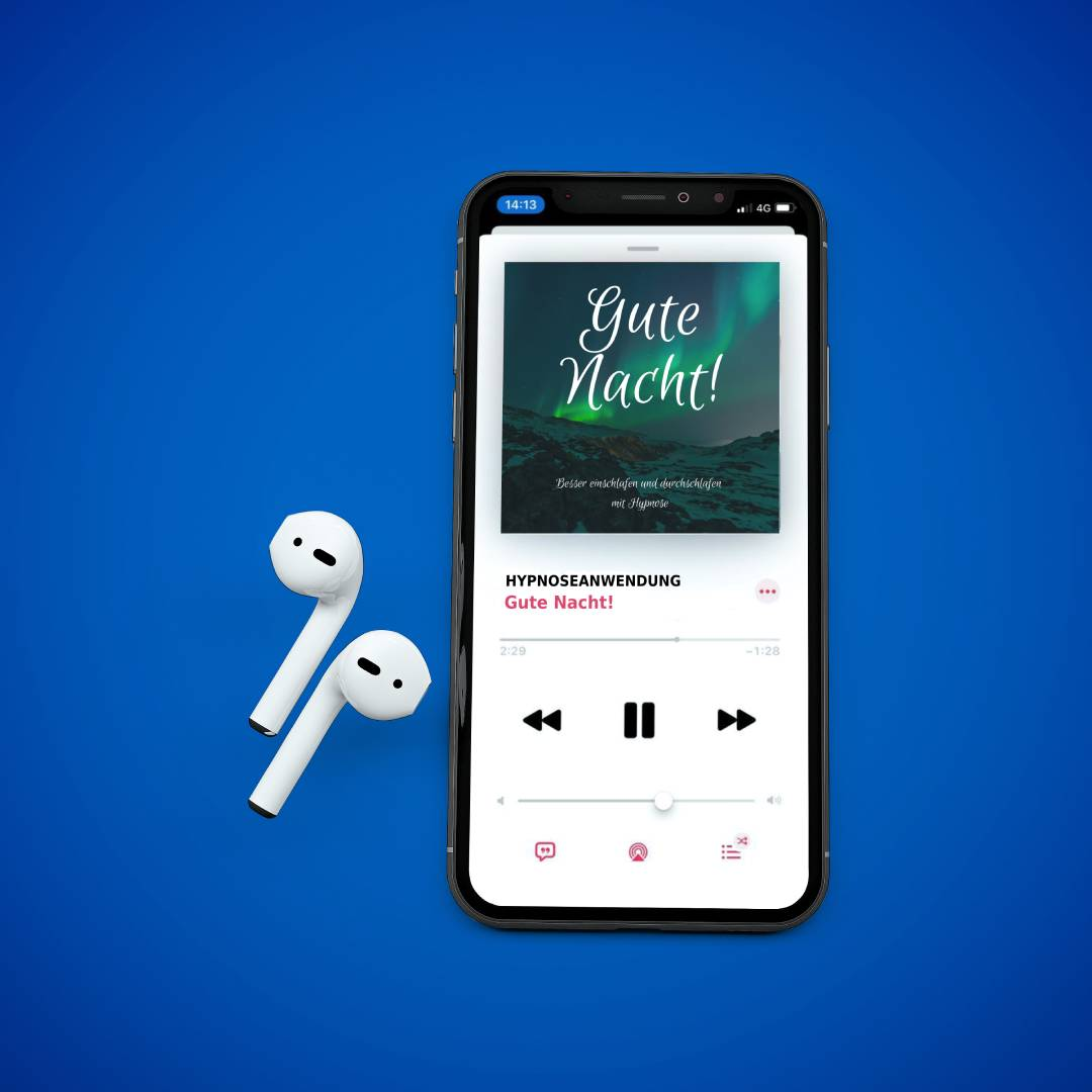 MOCKUP Iphone mit Airpods 1 2