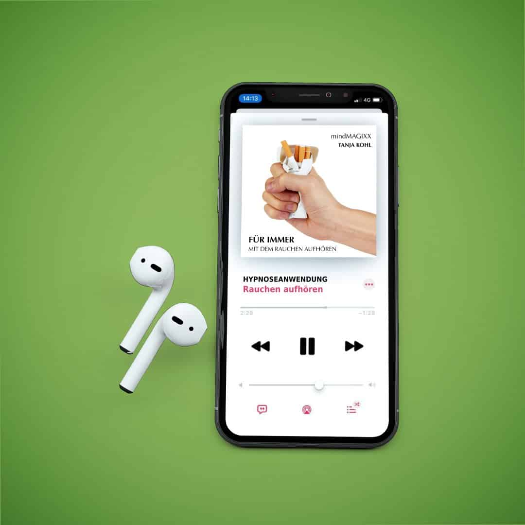 MOCKUP Iphone mit Airpods 2