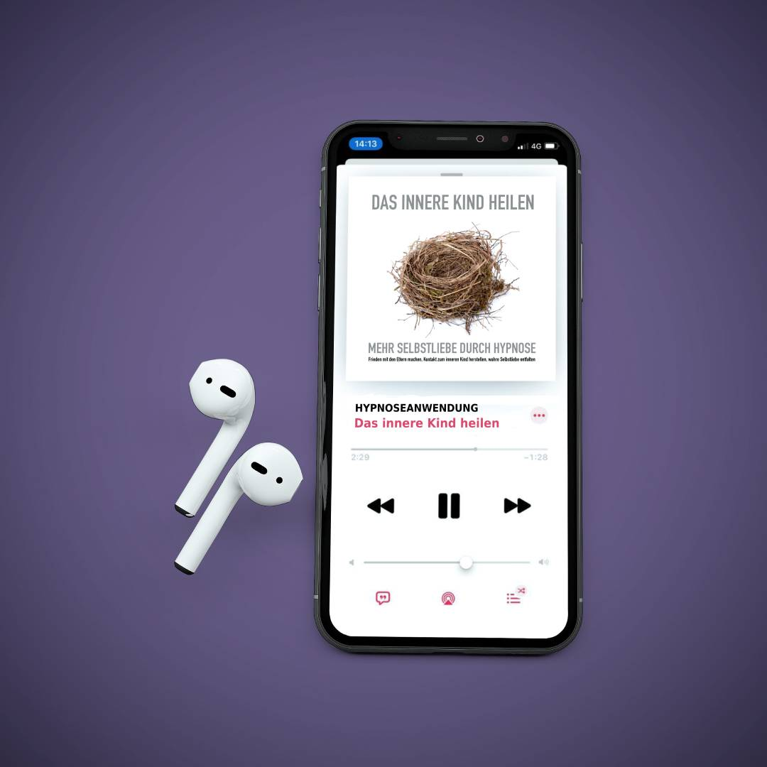 MOCKUP Iphone mit Airpods